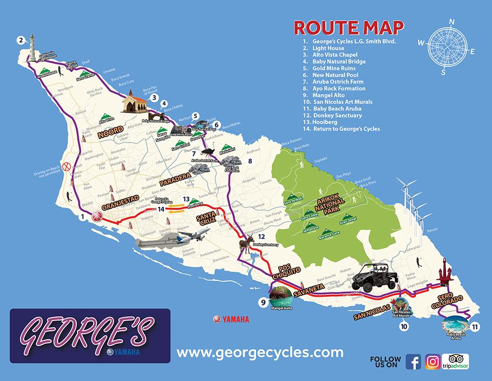 Aruba - Motorcycles & ATV Rentals - georgecycles.com